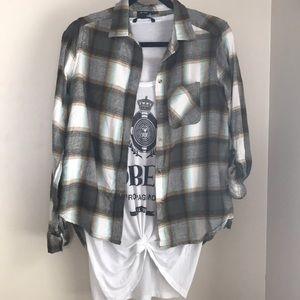 Daytrip thebuckle plaid flannel shirt